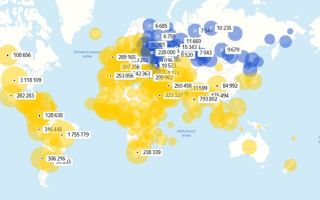 Карта распространения коронавируса на сегодня