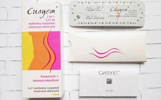 Цена противозачаточных таблеток Силуэт — отзывы и показания к применению