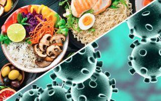 Питание при коронавирусе: что есть, чтобы скорее выздороветь
